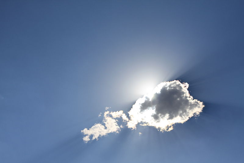 hope, sun, clouds