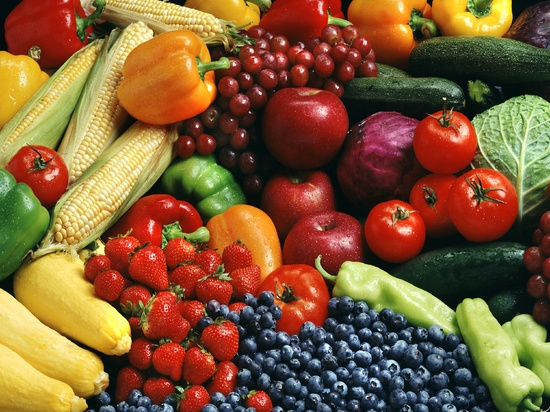 Fruits and Veggies Flickr